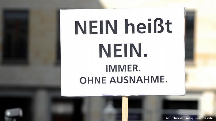"""""""Meilenstein"""" für Sexualstrafrecht: Nein heißt Nein"""