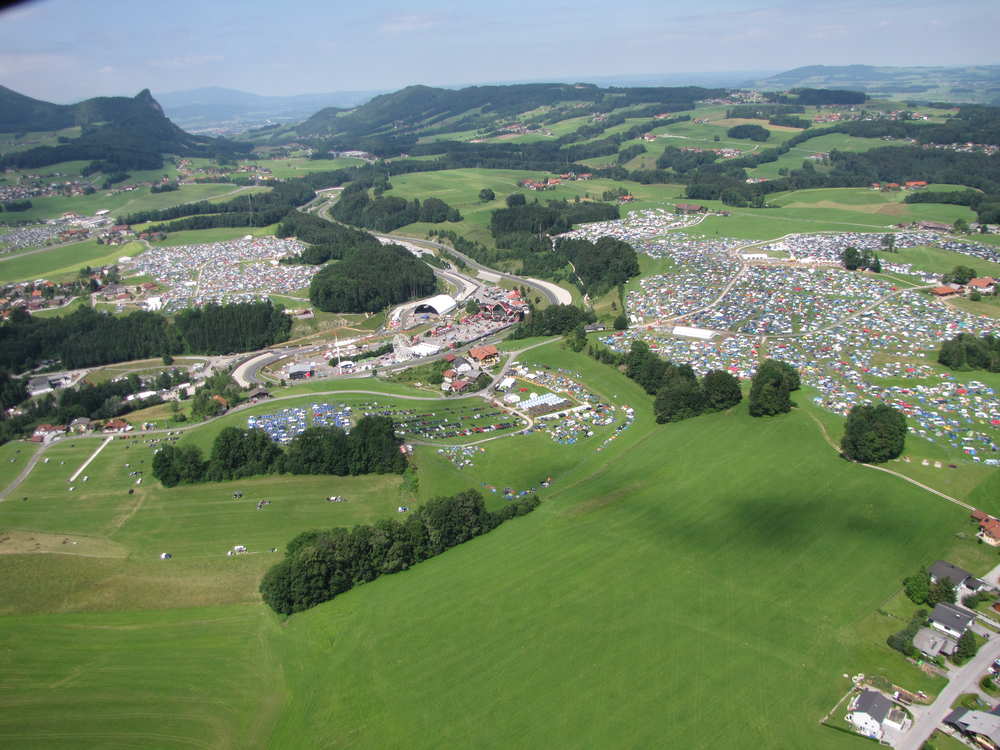 Vergewaltigung am Electric Love Festival am Salzburgring