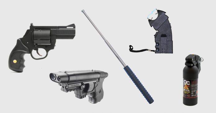 5 legale und hoch effektive Waffen zur Verteidigung des eigenen Lebens