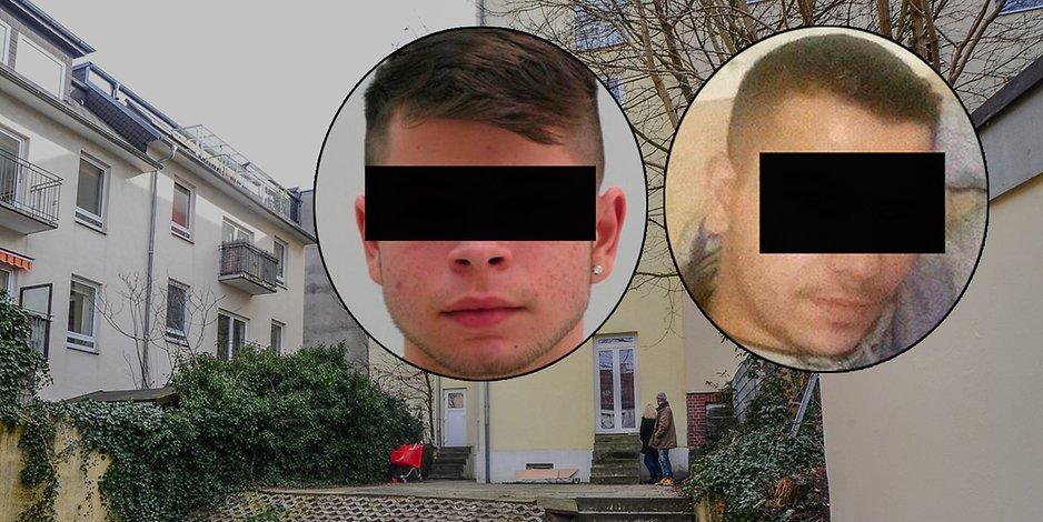 Vergewaltigung in Harburg Angeklagte feiern sich im Gericht