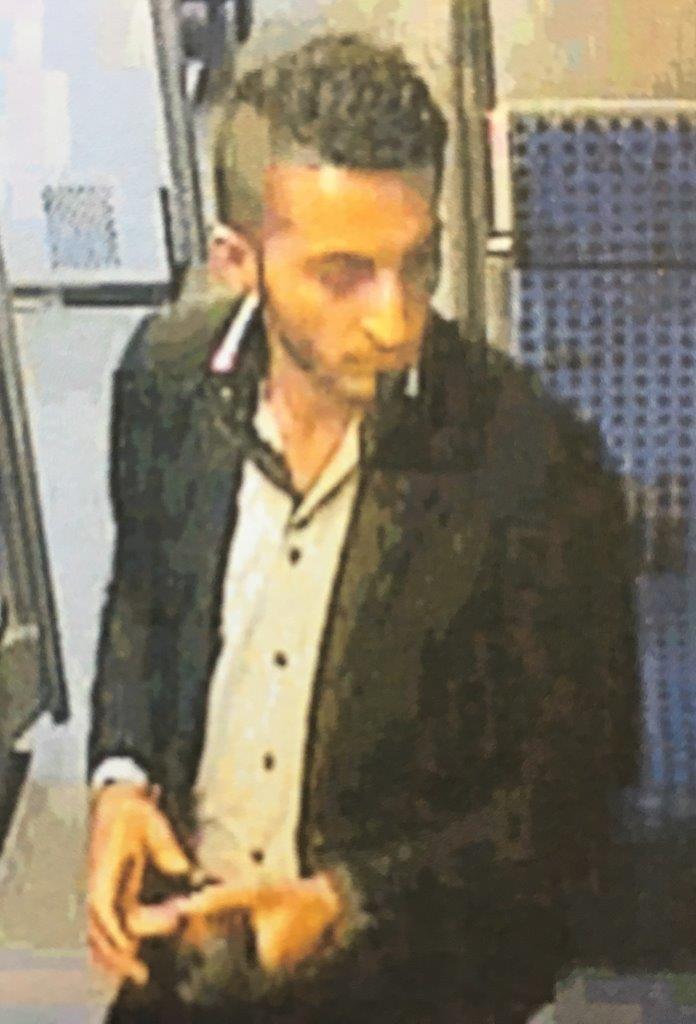 S-Bahn 1 – Unbekannter zeigte sich Reisender in obszöner Art und Weise – Bundespolizei fahndet mit Lichtbildern