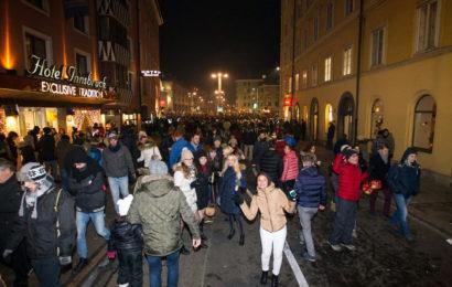 Silvester in Tirol: Betrunkene, sexuelle Belästigung, Brände