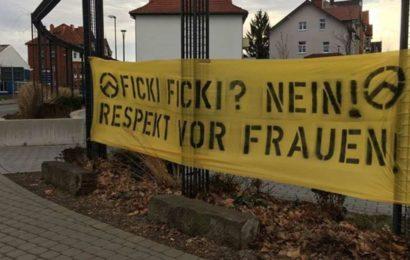 Rechtsextremes Gedankengut neben Flüchtlingsunterkunft? Polizei stellt Banner in Eschwege sicher