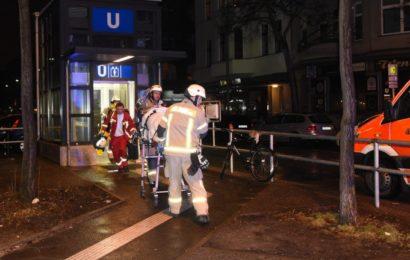 U7 brutal: Zwei blutige Vorfälle in nur elf Stunden