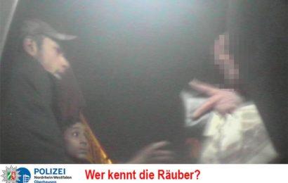 Räuber gesucht – Wer kennt die Täter?