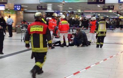 Düsseldorfer Hauptbahnhof nach Axt-Angriff evakuiert