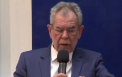 Alexander Van der Bellen – ALLE Frauen bitten, ein Kopftuch zu tragen (Video)