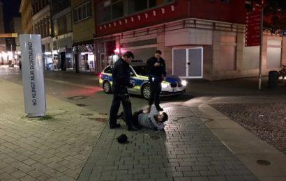 Frauen mit Messer bedroht – Festnahme!