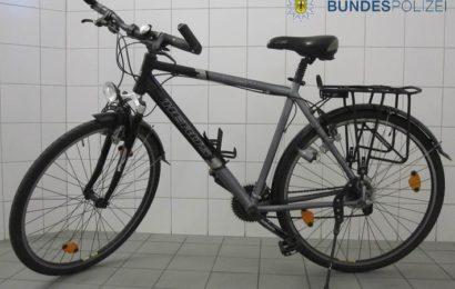 Bundespolizei ertappt mutmaßlichen Fahrraddieb
