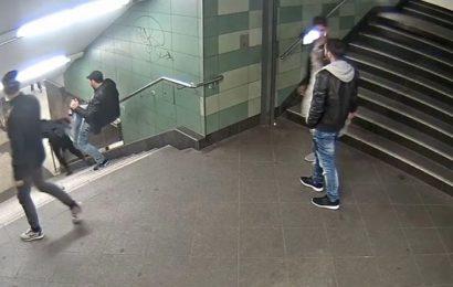 Verurteilt Zwei Jahre und elf Monate für den U-Bahn-Treter