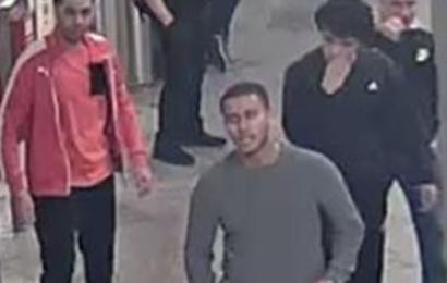 Obdachlosen ins Gesicht getreten: Wer hat diese vier Männer gesehen?