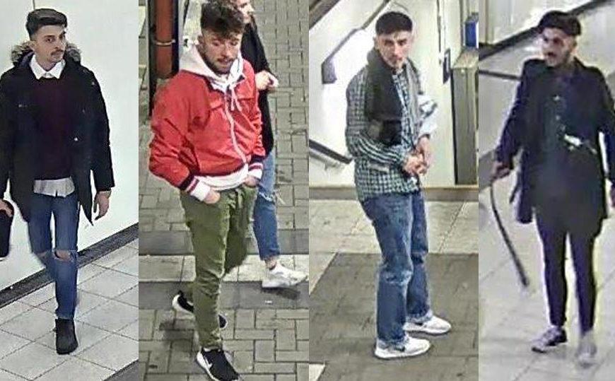 Brutale Schläger vom Bahnhof Herford: Wer kennt diese Männer?