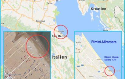 Rimini-Vergewaltigung: Täter warfen 26-Jährige danach ins Meer – Opfer will aktiv bei Identifizierung helfen