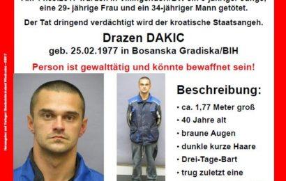 Für Hinweise, die zur Ergreifung des Täters führen, sind bis 5000 Euro Belohnung ausgesetzt