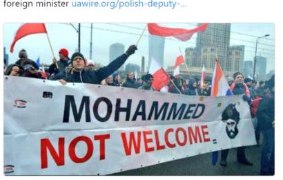 """""""Polen nimmt keine muslimischen Flüchtlinge auf"""" – Dieser Tweet wird in Deutschland zensiert"""