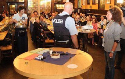 Wie die Polizei die Anwohner enttäuscht