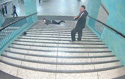 """Treppenschubser vor Gericht: """"Das wird schon so stimmen"""""""