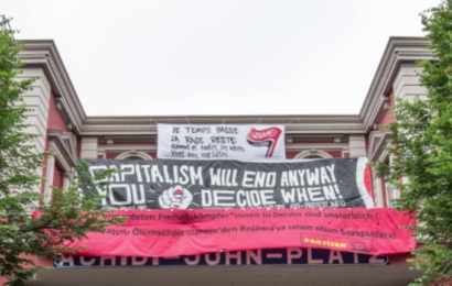 Polizisten empört: Behörden lassen linksautonome Trutzburg nach G20-Gewalt in Ruhe