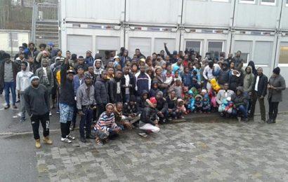 Flüchtlinge in Deggendorf streiken