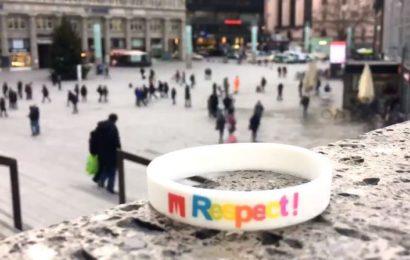 """""""Respect""""-Armband Lösung gegen sexuelle Übergriffe"""