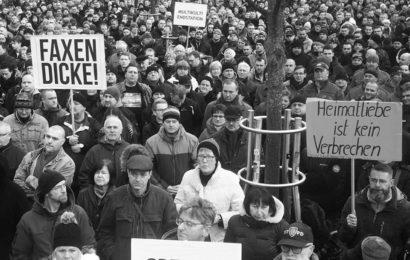 Zukunft Heimat 2500 PROTESTIEREN IN COTTBUS