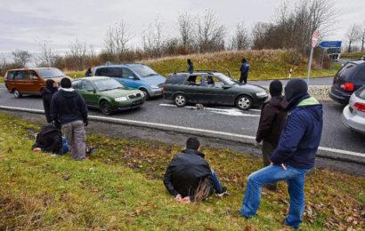 Hier stoppt SEK Terror- Verdächtige an der Autobahn