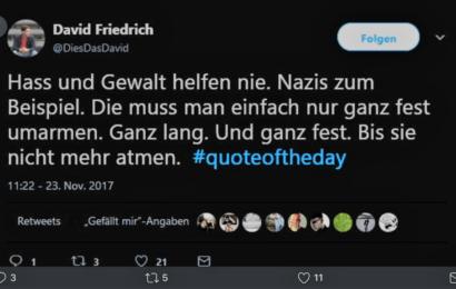 """Gewaltphantasien von KiKA-Morderator: """"Nazis drücken, bis sie nicht mehr atmen…"""""""