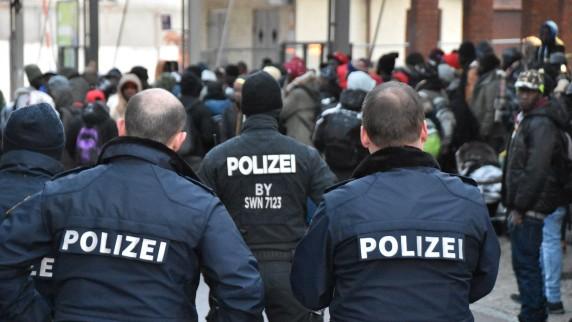 Abgelehnte Asylbewerber sorgten für Bahnhofssperrung