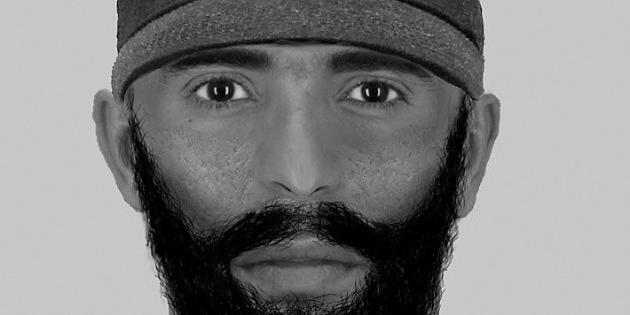 Polizei sucht den Räuber mit Narbengesicht aus Tannenbusch