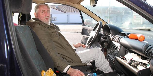 Horst S. lebt seit 26 Monaten im Auto