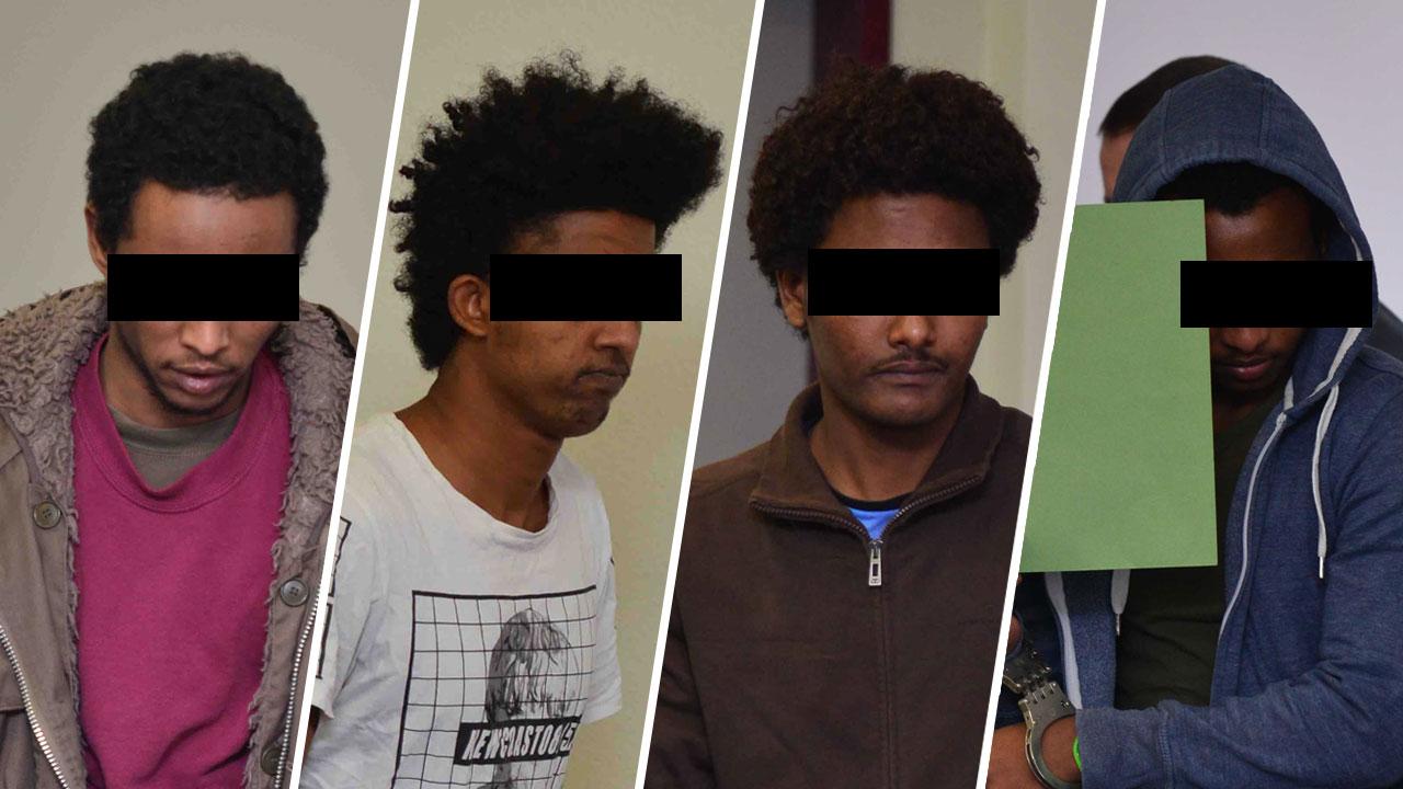 Vier Flüchtlinge als Vergewaltiger Gericht