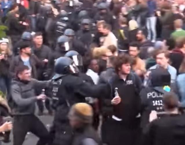 Berlin-Kreuzberg versinkt am 1. Mai erneut im Chaos