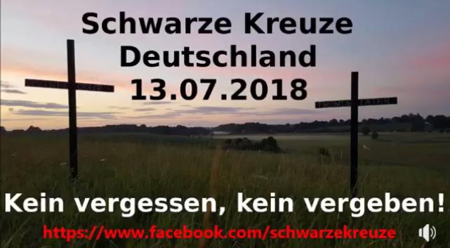 Schwarze Kreuze 2018