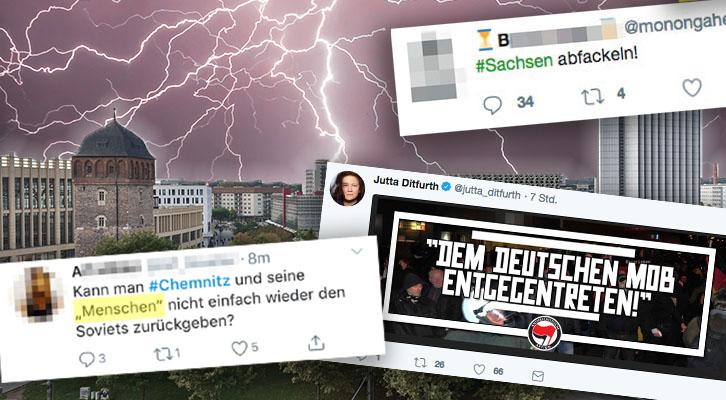 """""""Sachsen abfackeln"""": Linke rufen zum Mord an Chemnitzern auf"""