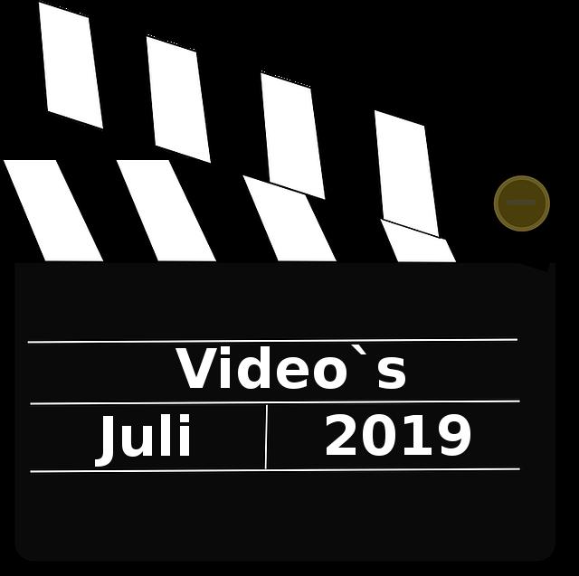 Video`s Juli 2019