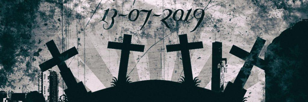 Aktion – Schwarze Kreuze – Kein deutsches Opfer wird vergessen!