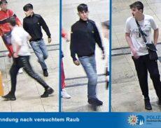 Öffentlichkeitsfahndung nach versuchtem Raub auf Gleis 10 – ein Tatverdächtiger identifiziert