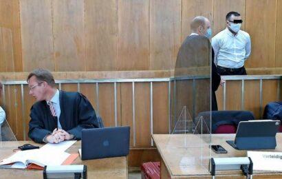 Attacke am Maschsee – zwei Männer sitzen auf der Anklagebank