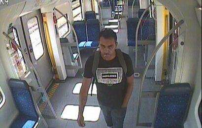 Unbekannter rieb in einer S-Bahn an seinem Geschlechtsteil und entblößte es