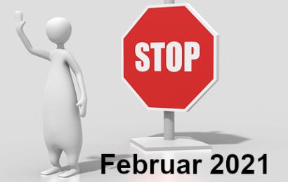 Pressemitteilungen vom Februar 2021